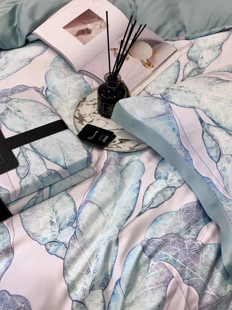 bộ chăn ga gối nệm drap tencel 60s cao cấp Serena