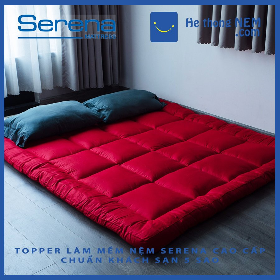 Tấm mattress đệm nệm topper toper nệm đệm SERENA